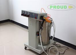 zhejiang electrostatic spray painting equipment aluminium powder coating machine for metal sheet