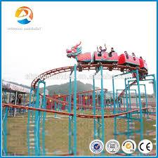 Climbing Car Model Amusement Kiddy Mini Backyard Roller Coaster Backyard Roller Coasters For Sale