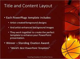 Basketball Powerpoint Template Basketball Graphics Drei90 Drei90 Model Best Graphics Vector