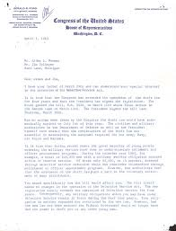 president gerald r ford typed letter signed 04 01 1963 hfsid 30831