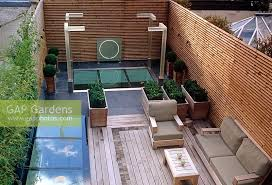 Small Picture GAP Gardens Contemporary small urban roof garden with decking