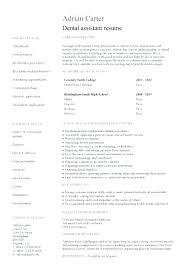 Resume Template For Dental Assistant Beauteous Dentist Resume Example Dental Resume Registered Dental Hygienist