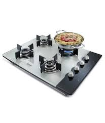 Gas Cooktop Glass Prestige Hob Top Phts 04 4 Burners Ai With Schott Glass Price In