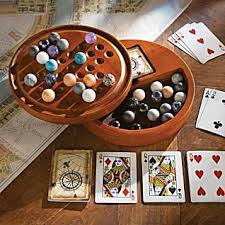 Game With Stones And Wooden Board Amazon Solitaire Game Set with Wooden Cabinet Board Stones 19
