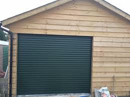 green garage door winchester