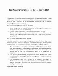 Career Builder Resume Search Elegant Barista Job Description Resume ...