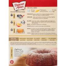 2 Pack Duncan Hines Classic Butter Golden Cake Mix 1525 Oz