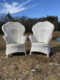 estilo victoriano vintage blanca sillas