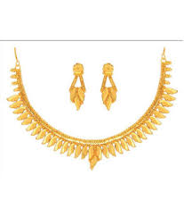 anjali jewellers gold wedding collection. anjali jewellers golden necklace set gold wedding collection l