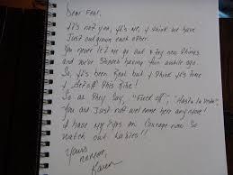 Sending Fear Break Letter The Question Here Sample Goodbye