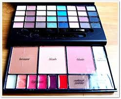nice sy acrylic packaging elf studio makeup clutch palette swatches fotd