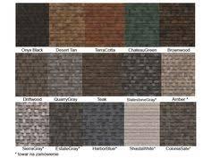 Oakridge Shingles Color Chart 161 Best Roof Colors Images Roof Colors Shingle Colors