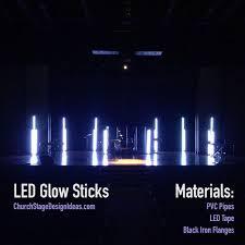 led glow sticks church stage design glow sticks glow and led