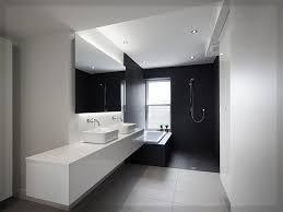Badezimmer Modern Schwarz Weiß Badezimmer Grau Weiß Wohnideen