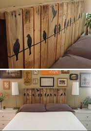 diy bedroom furniture. Diy Bedroom Decorating Ideas Pinterest At Innovative Repurposed Headboards Pallet Furniture