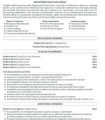 Licensed Practical Nurse Resume Sample Nursing Resume Examples New