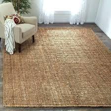 natural jute rug jute rug casual natural jute hand woven chunky thick rug natural fiber jute natural jute rug