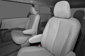 2016 toyota sienna minivan van base 7 passenger 4dr front wheel drive passenger van interior back