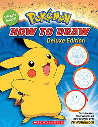 pokemon how to draw deluxe edition