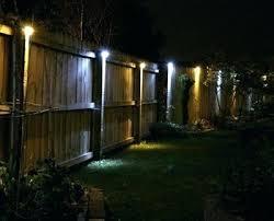 outdoor solar lighting ideas. Backyard Solar Lighting Ideas Outdoor Info In Fence Lights 9 H