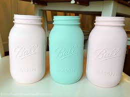 How To Decorate Mason Jars Beauteous How To Paint Mason Jars Love Of Family Home