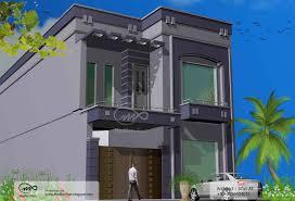 Front Elevation Design Of House Pictures In India Modren Plan Indian Home Design 5 Marla Front Elevation