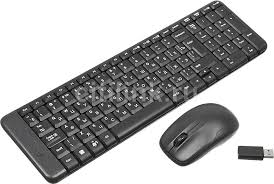 Купить Комплект (<b>клавиатура</b>+<b>мышь</b>) <b>LOGITECH</b> MK220, черный ...