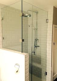 half wall shower enclosure half wall shower enclosure remarkable interiors 2 glass wall shower enclosure shower