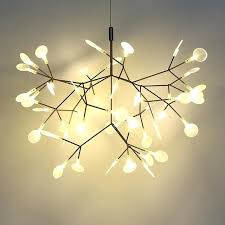 decoration post modern led chandelier light tree branch technique of conductive layers art decoration ceiling