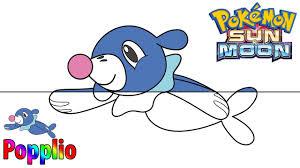 Hướng Dẫn Vẽ Và Tô Màu Popplio (Pokemon) Bửu Bối Thần Kỳ - YouTube