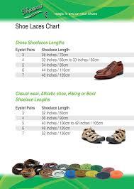 Shoe Laces Chart Shucare