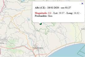 Terremoto in Italia oggi, 18 gennaio 2020, il riepilogo ...