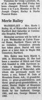 Bailey, Merle Blair Dale - Newspapers.com