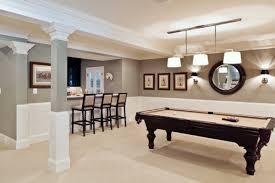 lighting a basement. This Basement Lighting Uses Pendant Lights And Sconce On The Walls. A
