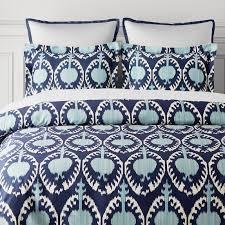 printed marrakesh ikat bedding
