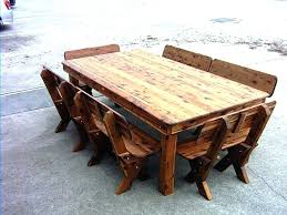 wooden outside table wood patio table folding wooden and chairs plans free outside wood patio table