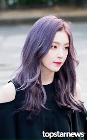 Purple Hair Style snsd taeyeons 10 kinds of twotone hair color transformation 1808 by wearticles.com