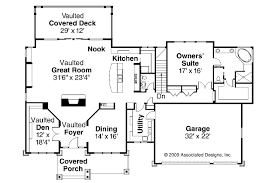 craftsman floor plans. Craftsman House Plan - Pacifica 30-683 1st Floor Plans P