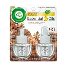 air wick plug in scented oil 2 refills woodland mystique 2x0 67oz air freshener essential oils fall scent fall décor