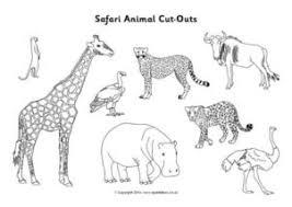 See more ideas about animal print crafts, safari theme, leopard print cake. African Safari Savannah Printables For Primary School Sparklebox