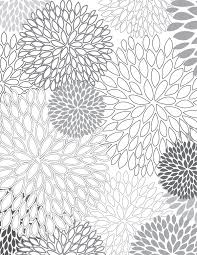 Small Picture Floral Pattern Coloring Pages Coloring Coloring Pages