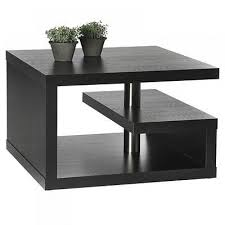 coffee table incredible rectangle modern laminated wood small black coffee table ith shelf designs to setup