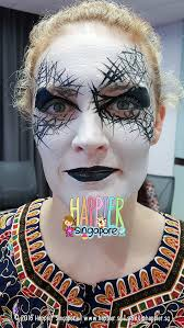 planning to recreate those boo tiful make up looks how about using face paint instead