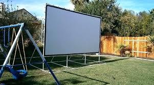 diy portable projector screen projector screen backyard theater projection screen 5 portable projector screen stand diy