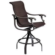 outdoor patio bar swivel chairs. ravello woven swivel bar stool outdoor patio chairs