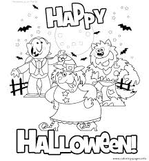 Cute Halloween Coloring Pages For Kids Halloween Coloring Printables Edwardparra Co