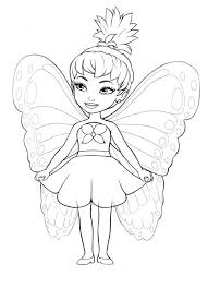 fairy color pages fairy coloring pages for girls great free clipart silhouette