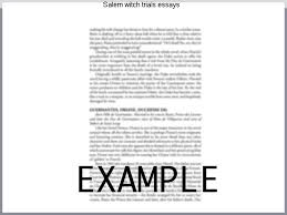 m witch trials essays college paper help  m witch trials essays view and m witch trials essays examples also discover topics