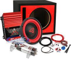 12 cerwin vega vega122 sub d2 600 power acoustik 2 chan amp 400w cerwin vega subwoofer power acoustik amplifier combo
