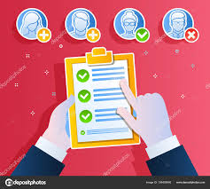 Job Qualification List Business Concept Hiring Employee Candidate Qualification Job